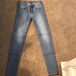 American Eagle Jeans (Super Super Stretch X)